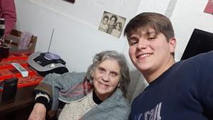 Nadia y Federico de La Paz en La Zurda